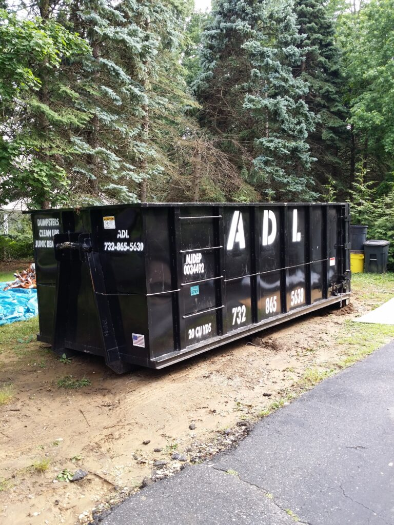 Red Bank Dumpster Rental   Monmouth County Junk Removal