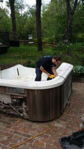 Monmouth County NJ Hot Tub Demolition & Disposal!