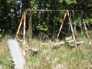 Middlesex County Swing Set Demolition